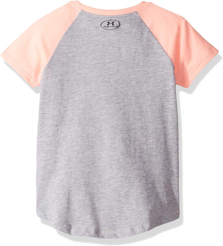 Pitch Gray-s19 3T Under Armour Girls Toddler Raglan Ss Tee Shirt