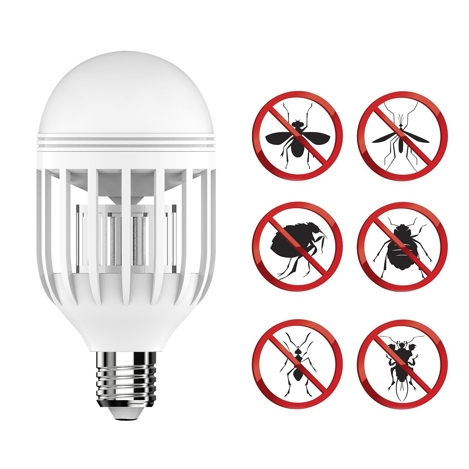 Best Bug Zapper Bug Zapper Light Bulb with LED Light