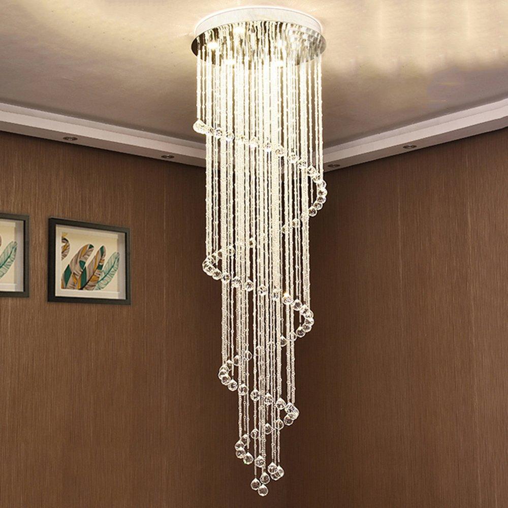 Vallkin modern led crystal chandeliers lighting fixtures dining room stairs minimalist modern designer lamps hanging lamps indoor home deco pendant lights