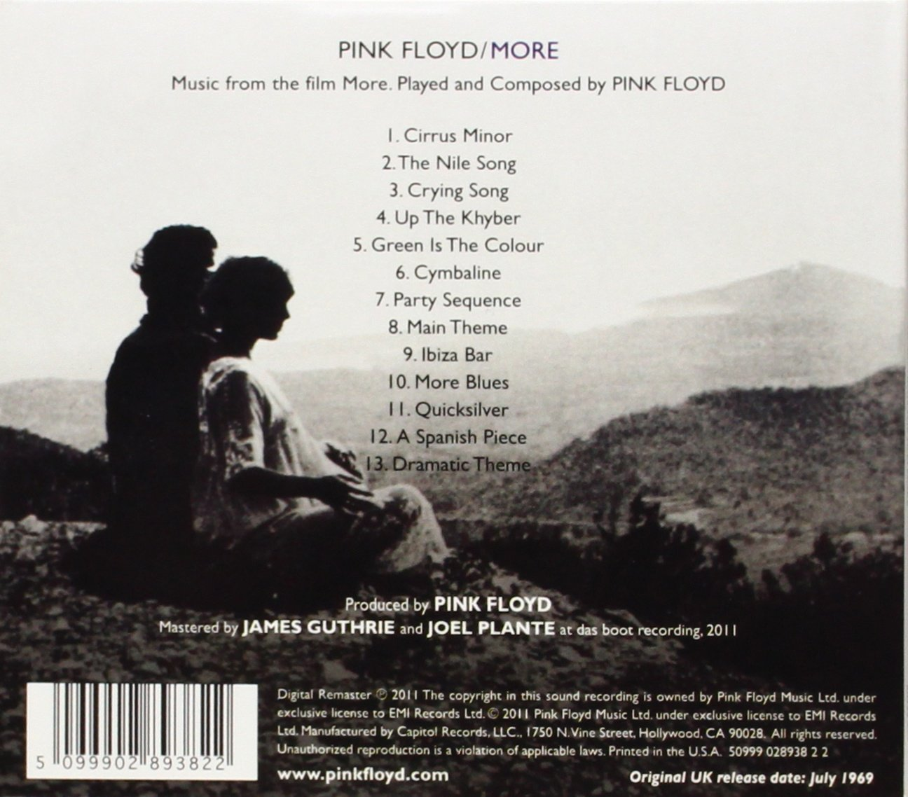 most romantic pink floyd song