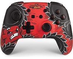 PowerA Enhanced Wireless Controller for Nintendo Switch - Meat Boy, Nintendo Switch Lite, Gamepad, Game Controller, Bluetooth
