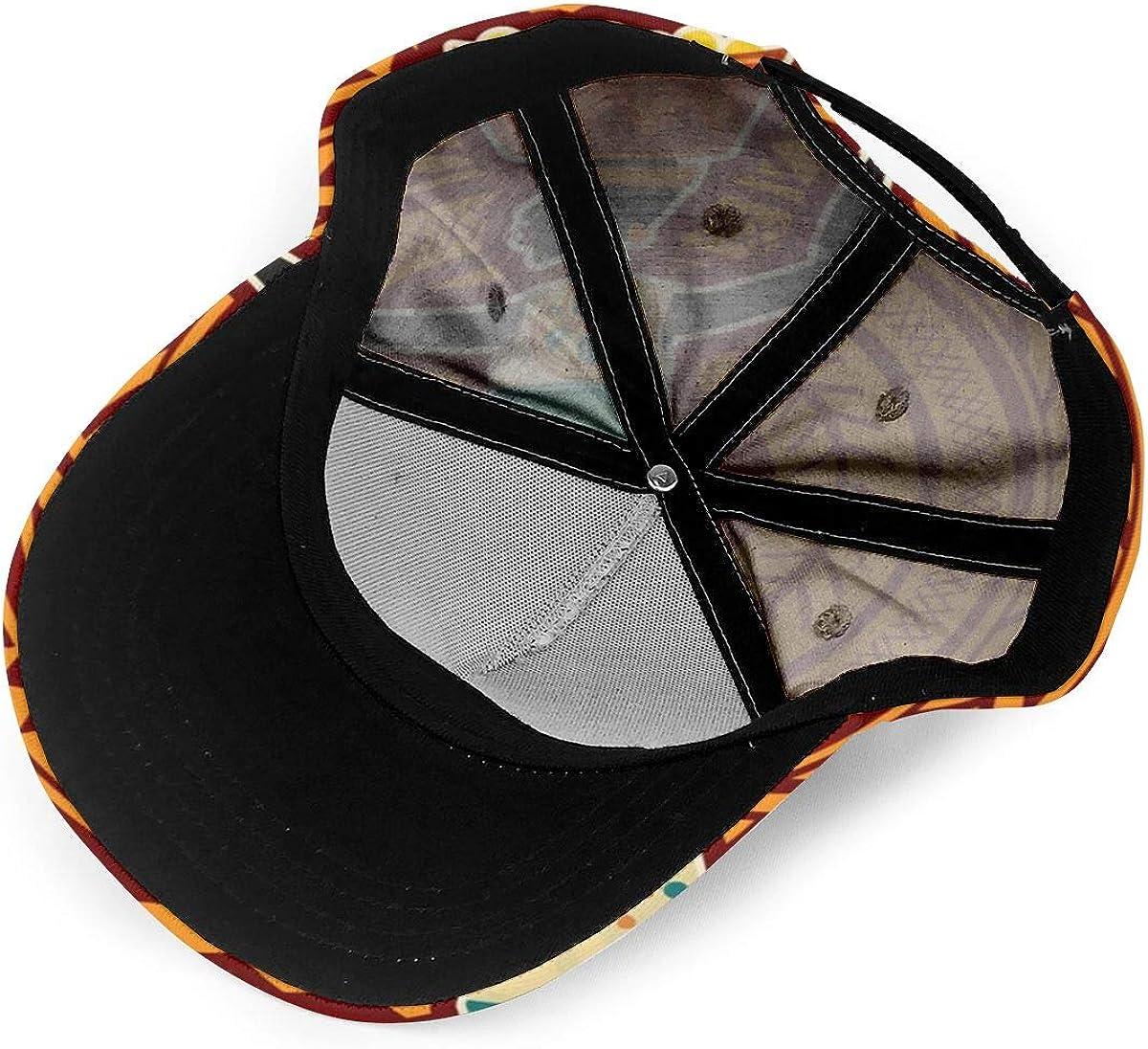 Ethnic Dress African Women Fashion Classic Full Print Visor Hat Adjustable Baseball Cap