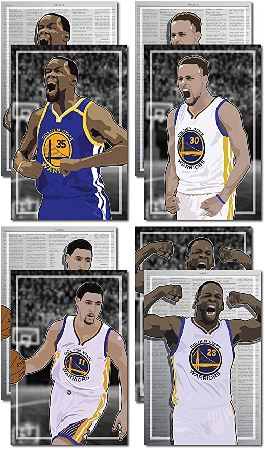 Kevin Durant Warriors Basketball Silk Poster 12x18 24x36 inch
