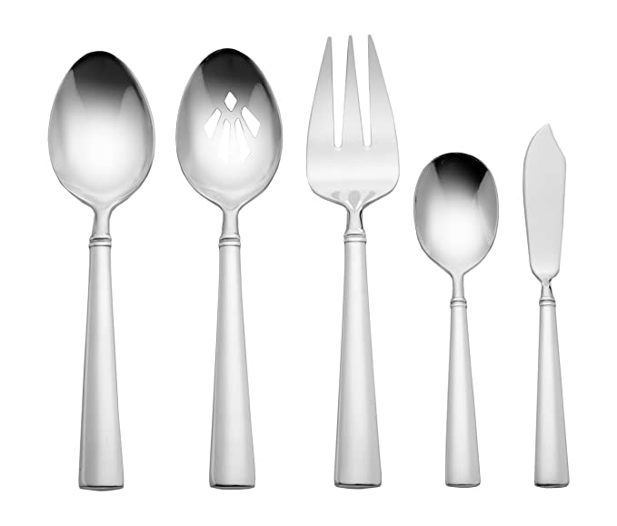 Amazon.com | Reed & Barton 07952008 Perspective 65-Piece Flatware Set: Reed And Barton Stainless Flatware: Flatware Sets