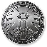 Yancos Agents of SHIELD Hawk Logo Badge Pin