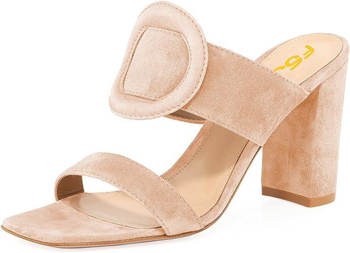 Summer Hot Shiny Block  High Heels Open Toe Sandal Platform Women Shoes Slippers