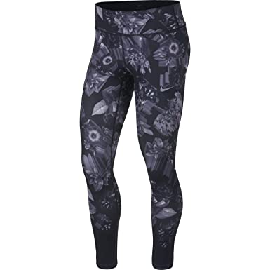 c2ab53e013aff1 Amazon.com: NIKE Women's Epic Lux Printed Running Tights Floral: Clothing