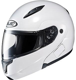 HJC 972-143 CL-MAXBT II Bluetooth Modular Motorcycle Helmet (White, Medium