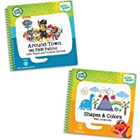 LeapFrog LeapStart 2 Book Combo Pack: Shapes & Colors & Around Town with PAW Patrol,Multicolor