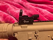 Good sight for 16 bucks. Expect blurry reticle though.