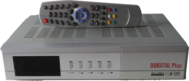 Receptor de TV por Cable DVB-C Ddigital Plus /sintonizador de Cable: Amazon.es: Electrónica