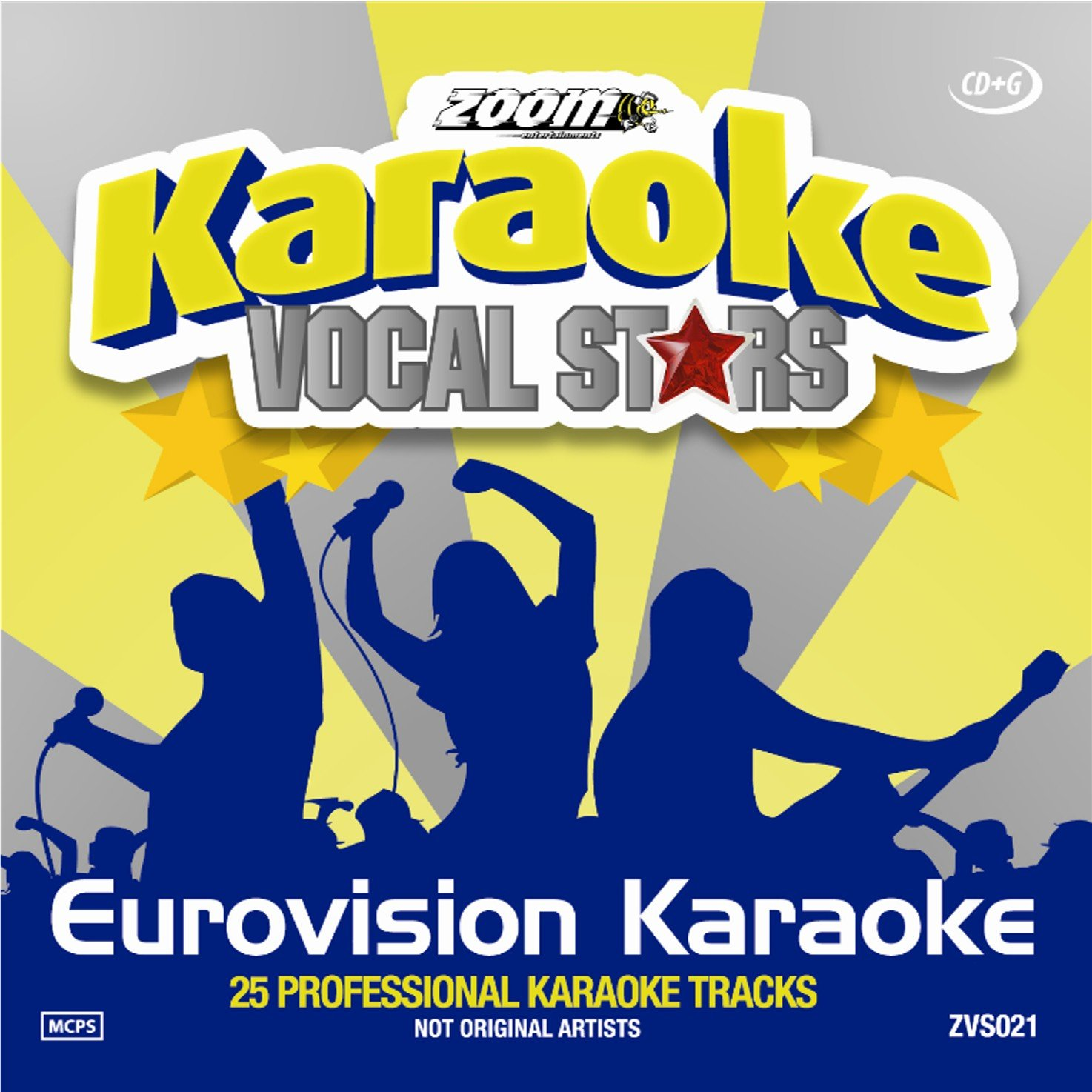 Zoom Karaoke CD+G - Eurovision Song Contest - Vocal Stars Karaoke Series 21 [Card Wallet]
