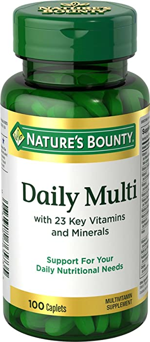Top 10 Nature Bounty Multivitamins For Women
