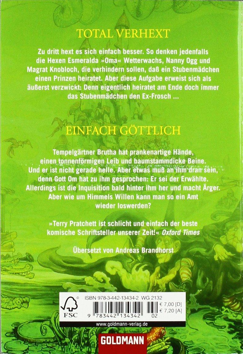 Einfach G�ttlich: Zwei Scheibenweltromane In Einem Band:  Amazon: Terry Pratchett, Andreas Brandhorst: B�cher