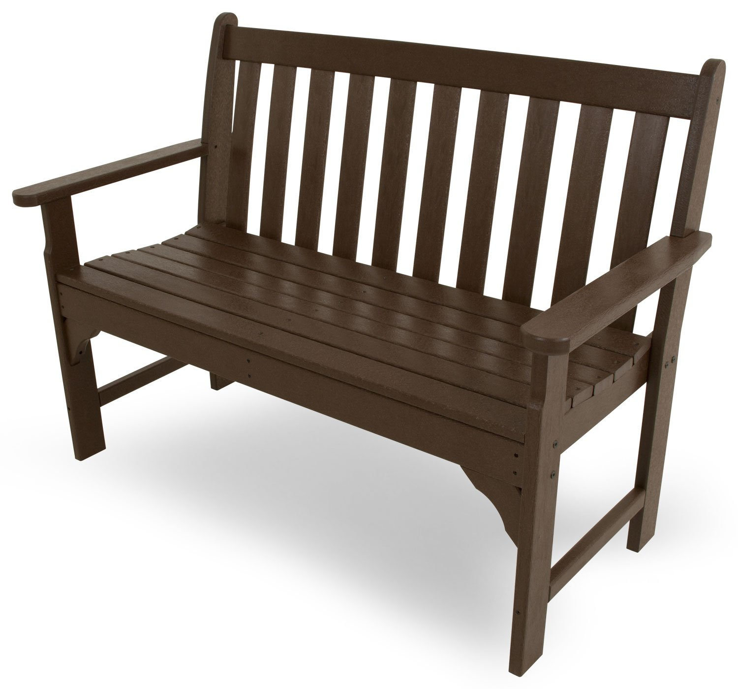 POLYWOOD Vineyard 48 Bench Mahogany
