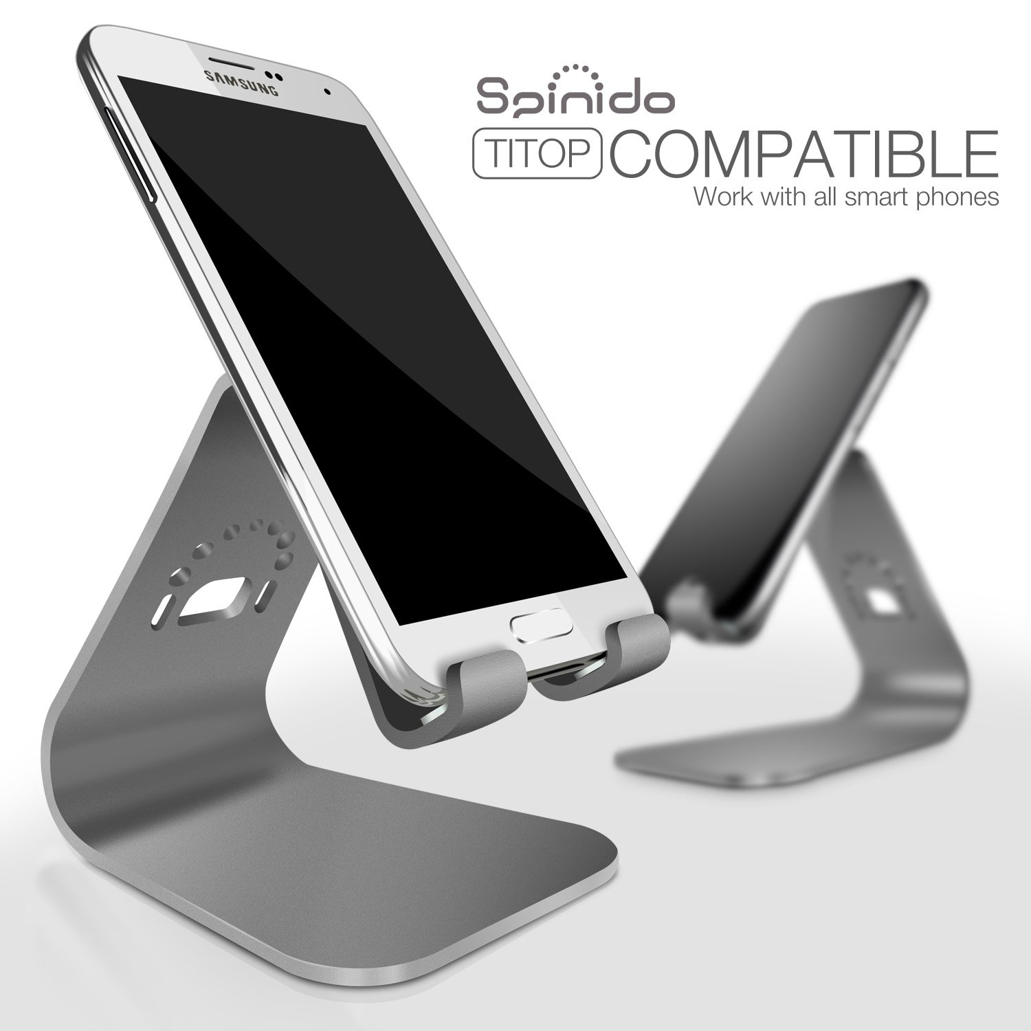 spinido phone stand dock holder for iphone 7 plus 7