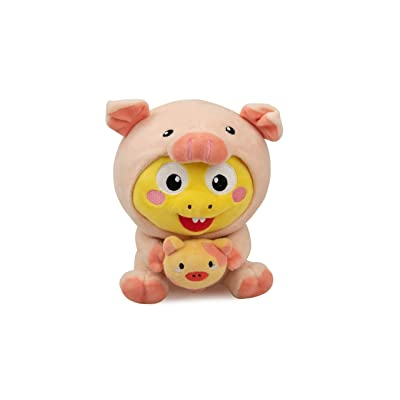VIPKID Official Pig Dino Doll Teaching Prop and Cuddle Buddy: Toys & Games