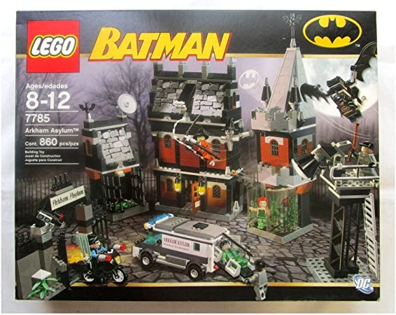 Amazon Com Lego Batman Arkham Asylum 7785 Toys Games