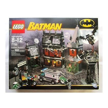 Amazon.com: Batman Arkham Asylum Lego 7785: Toys & Games
