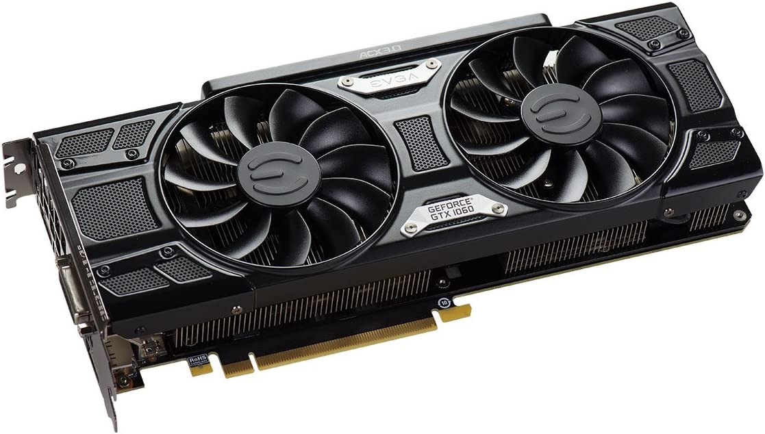 EVGA GeForce GTX 1060 6GB FTW GAMING ACX 3.0 PXOC 6GB GDDR5 Graphics Card 06G-P4-6268-KR LED DX12 OSD Support