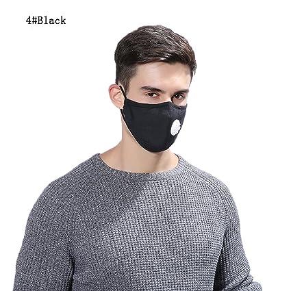 Máscara de algodón anticontaminación y antipolvo reutilizable y lavable unisex para alergias, asma, viajes