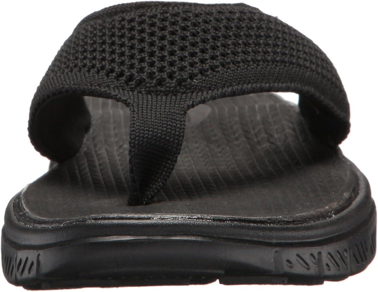 Skechers Sport Mens Flex Advantage S Crommelin Flip-Flop,,