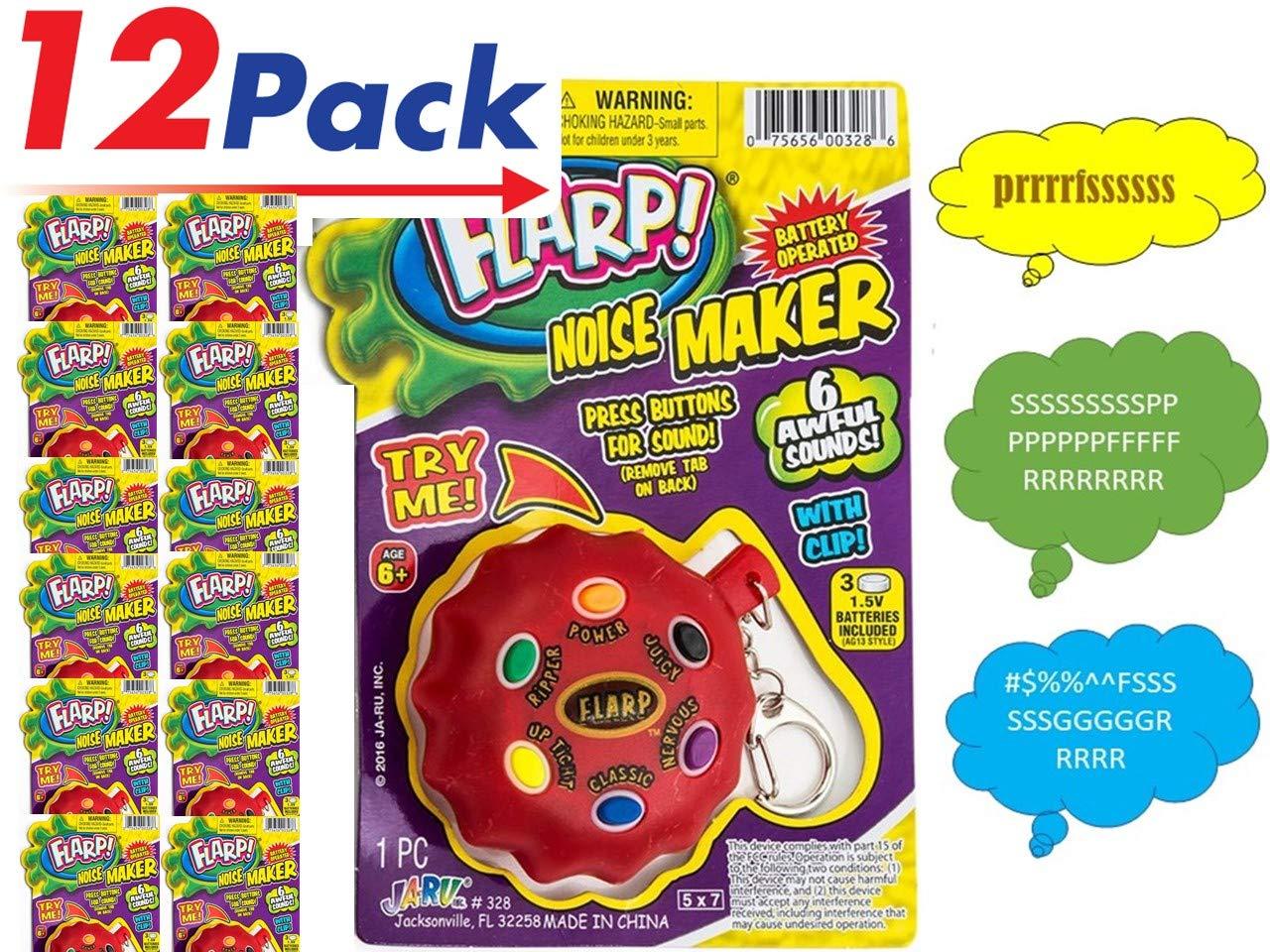 JaRu Flarp Noise Maker (Pack of 12) Prank Your Friends with Fart Noises   Item #328-12