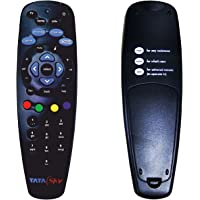 TATASKY DTH Universal Remote for SD & HD Set Top Box (Black)