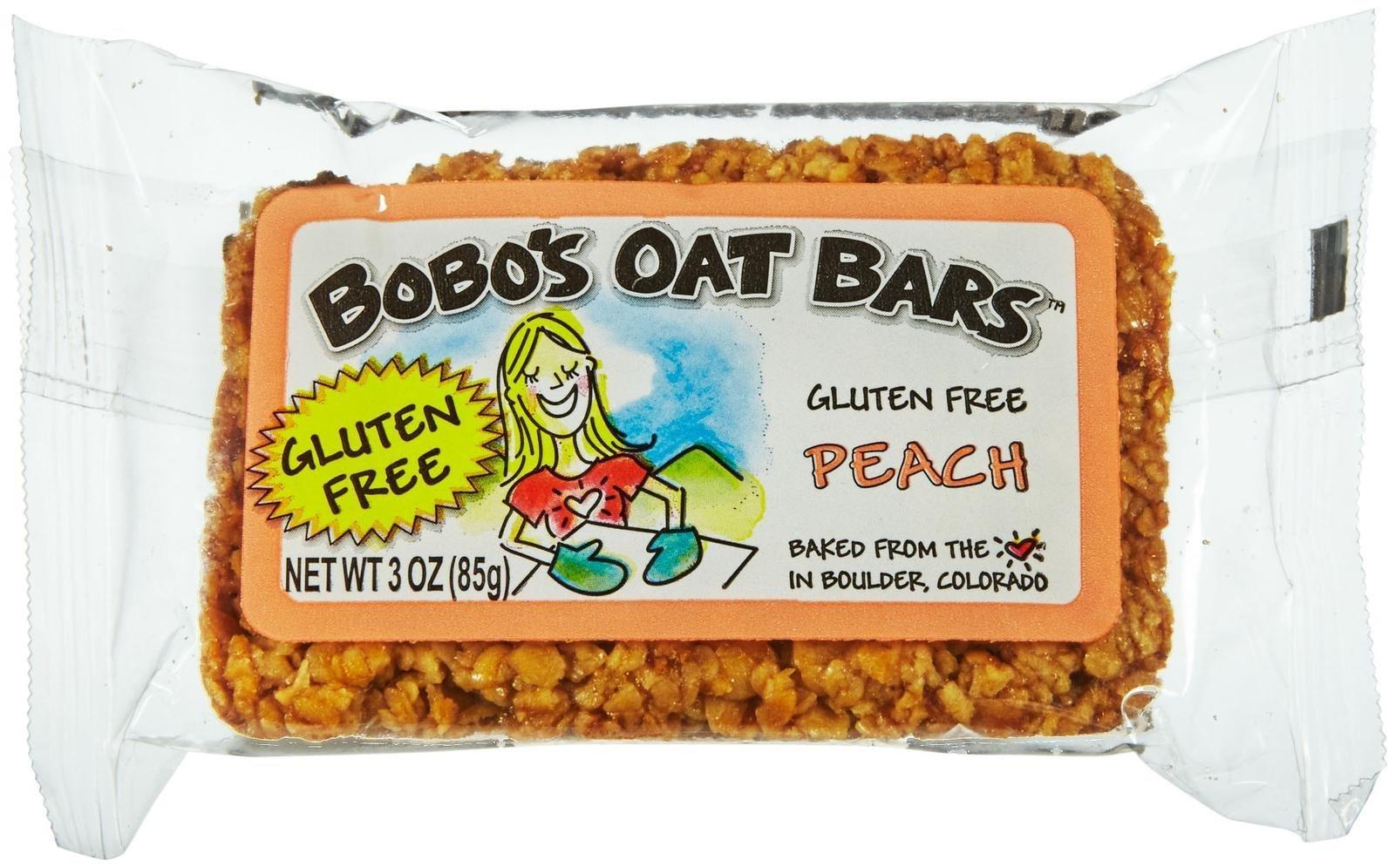 BOBOS OAT BARS Organic Bars Oat Peach, 3 OZ