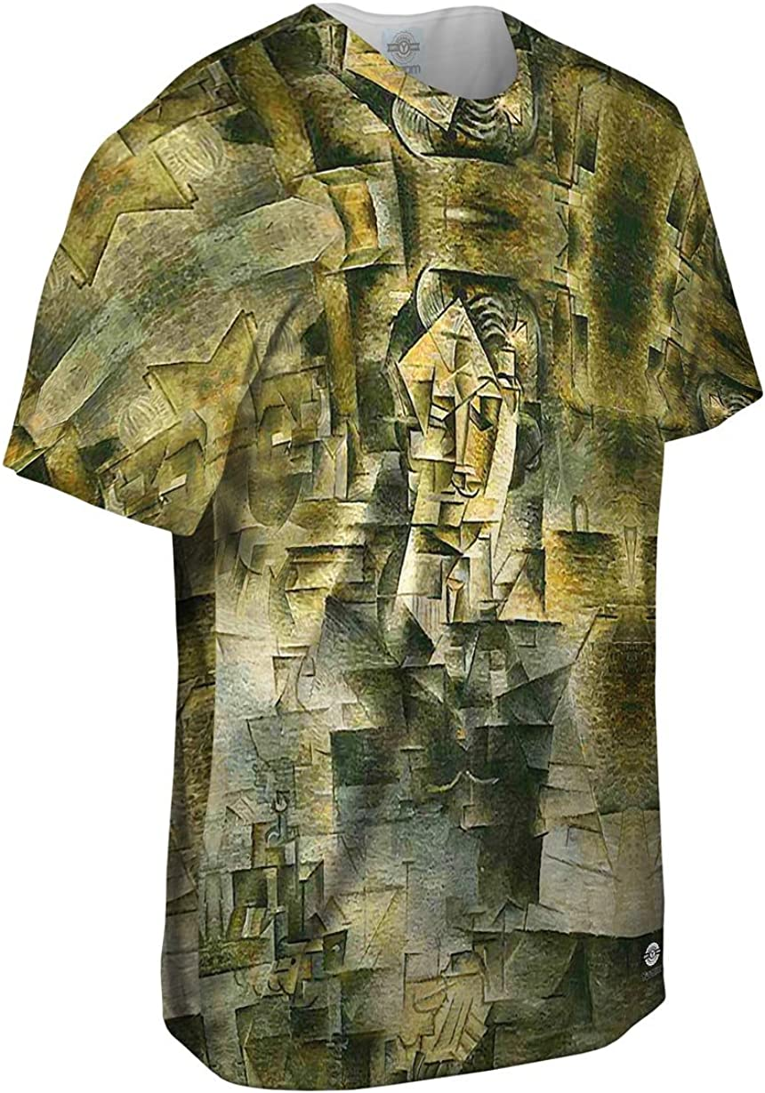 Portrait of Danie Yizzam- Pablo Picasso Mens Hoodie 2348 Allover Print