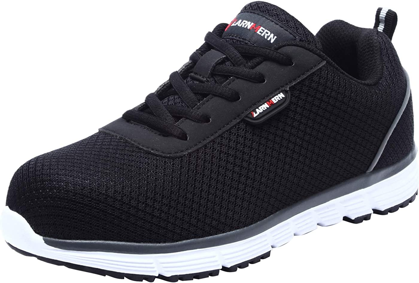 Zapatillas de Seguridad Mujer L8038 SRC Zapatos de Trabajo con Punta de Acero Ultra Liviano Suave y cómodo Transpirable Antideslizante
