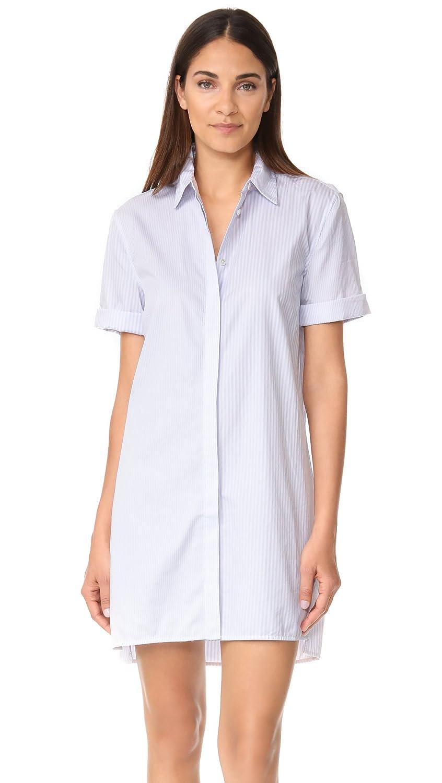Bright White Brisk B Equipment Womens Mirelle Dress Dress