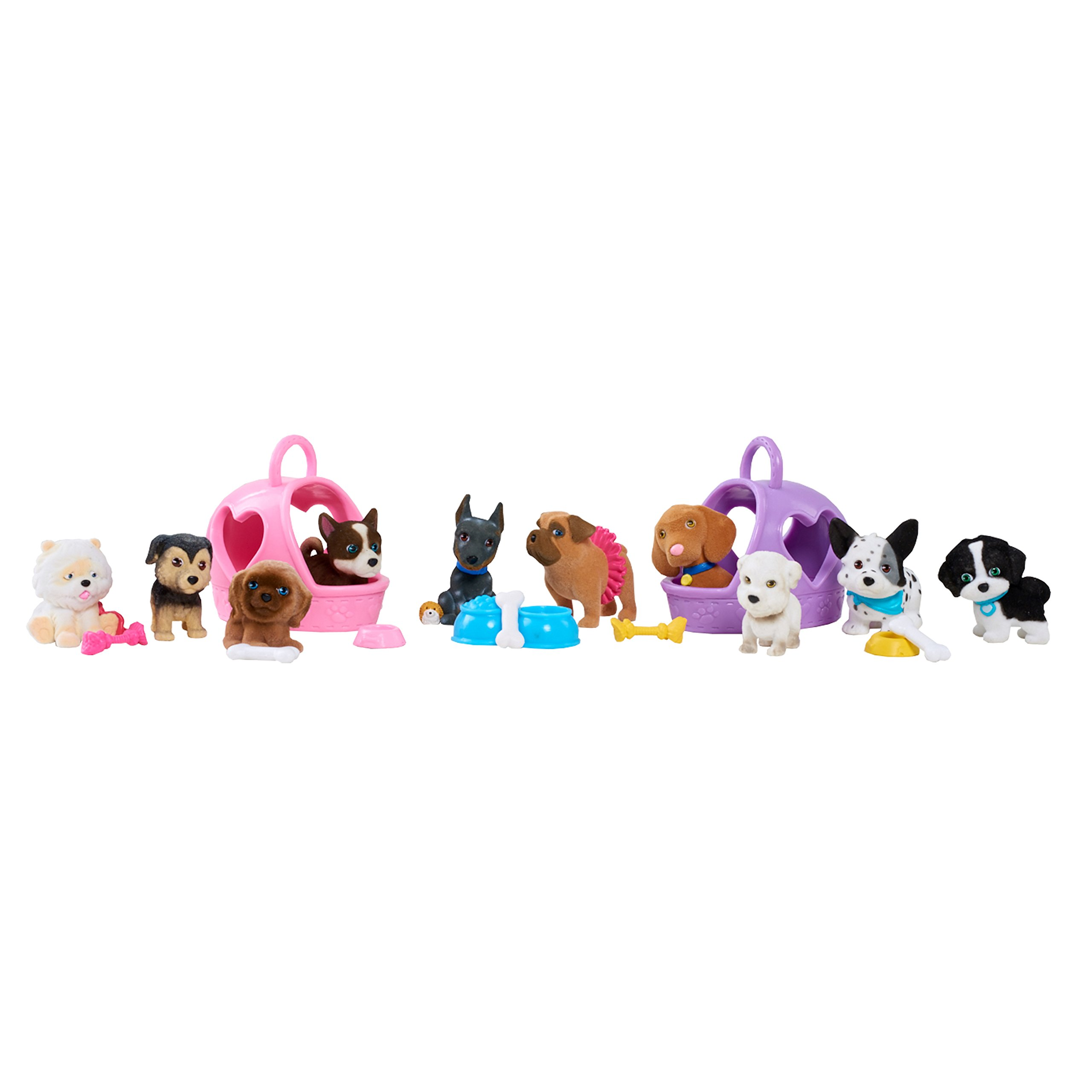 Just Play Puppy In My Pocket 20 Pc Deluxe Pack Figures Toy