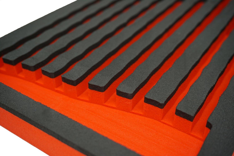 Holds 7 Garage Ready Screwdriver Organizer Tray Screwdriver Organizer Tray - Black//Blue
