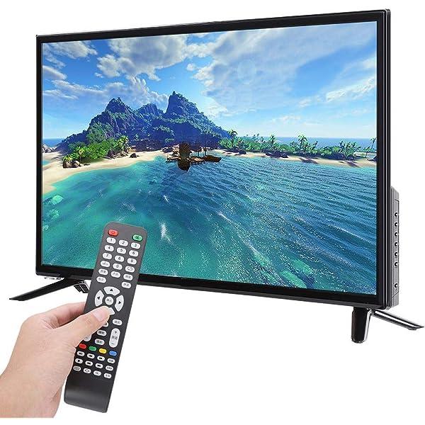 Oumij Smart TV Televisor con Pantalla LCD HD Puertos HDMI Smart TV ...