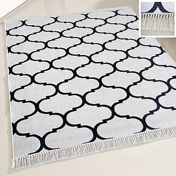 Amazon De Mynes Home Teppich Designer Waschbar Marrokanisches