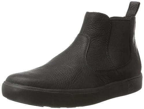 Timberland Amherst, Botas Chelsea para Hombre, Negro (Black), 46 EU: Amazon.es: Zapatos y complementos