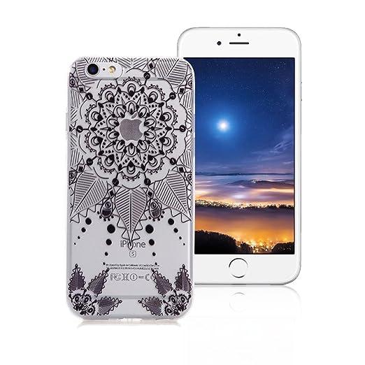 2 opinioni per Custodia iPhone 6/6S XiaoXiMi Cover TPU Trasparente Custodia in Silicone Gomma