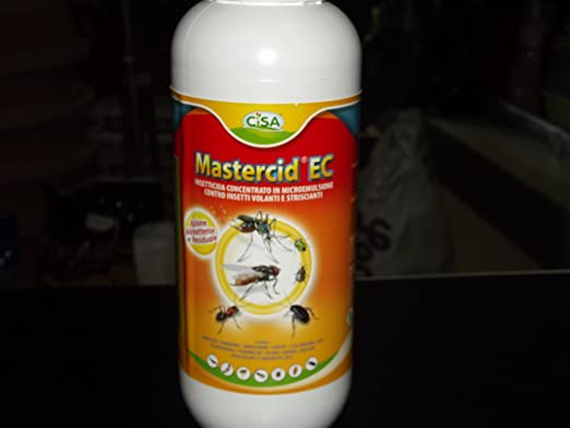 INSECTICIDA MASTERCID-MOSQUITOS LÍQUIDO PARA EXTERIOR, PULGAS MONDONATURA GARRAPATAS: Amazon.es: Jardín