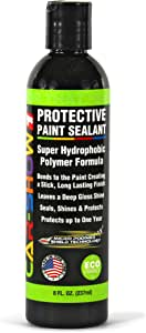 CAR-SHOW 1 Polymer Paint Sealant 8 Oz. - Advanced Formula Hydrophobic Polymer Coating