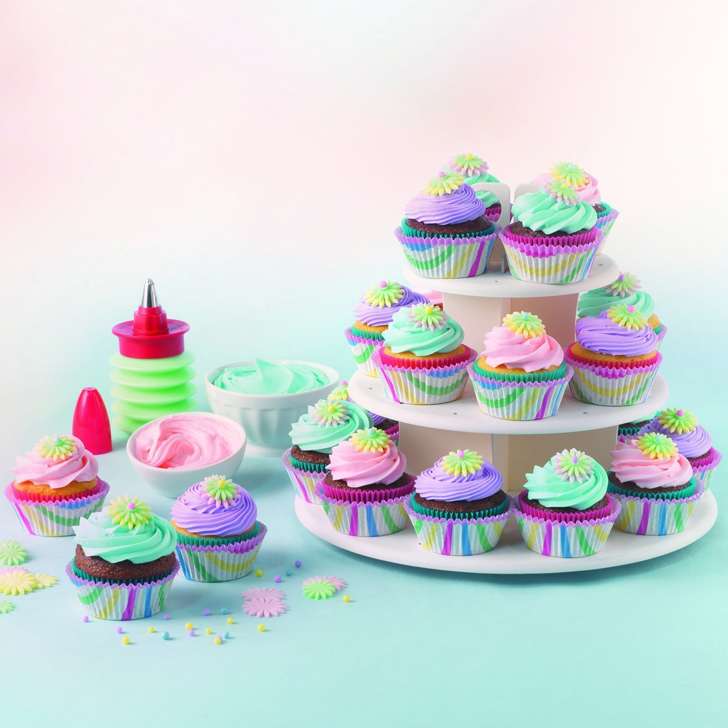 Buy SWEET CREATIONS Cake Pop & Cupcake Stand by Good Cook 3 Tier