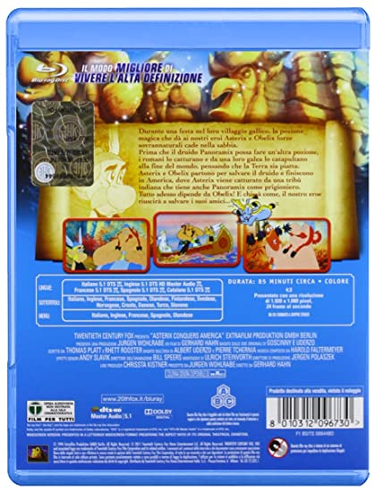 Asterix Conquista L'America: Amazon co uk: Gerhard Hahn: DVD