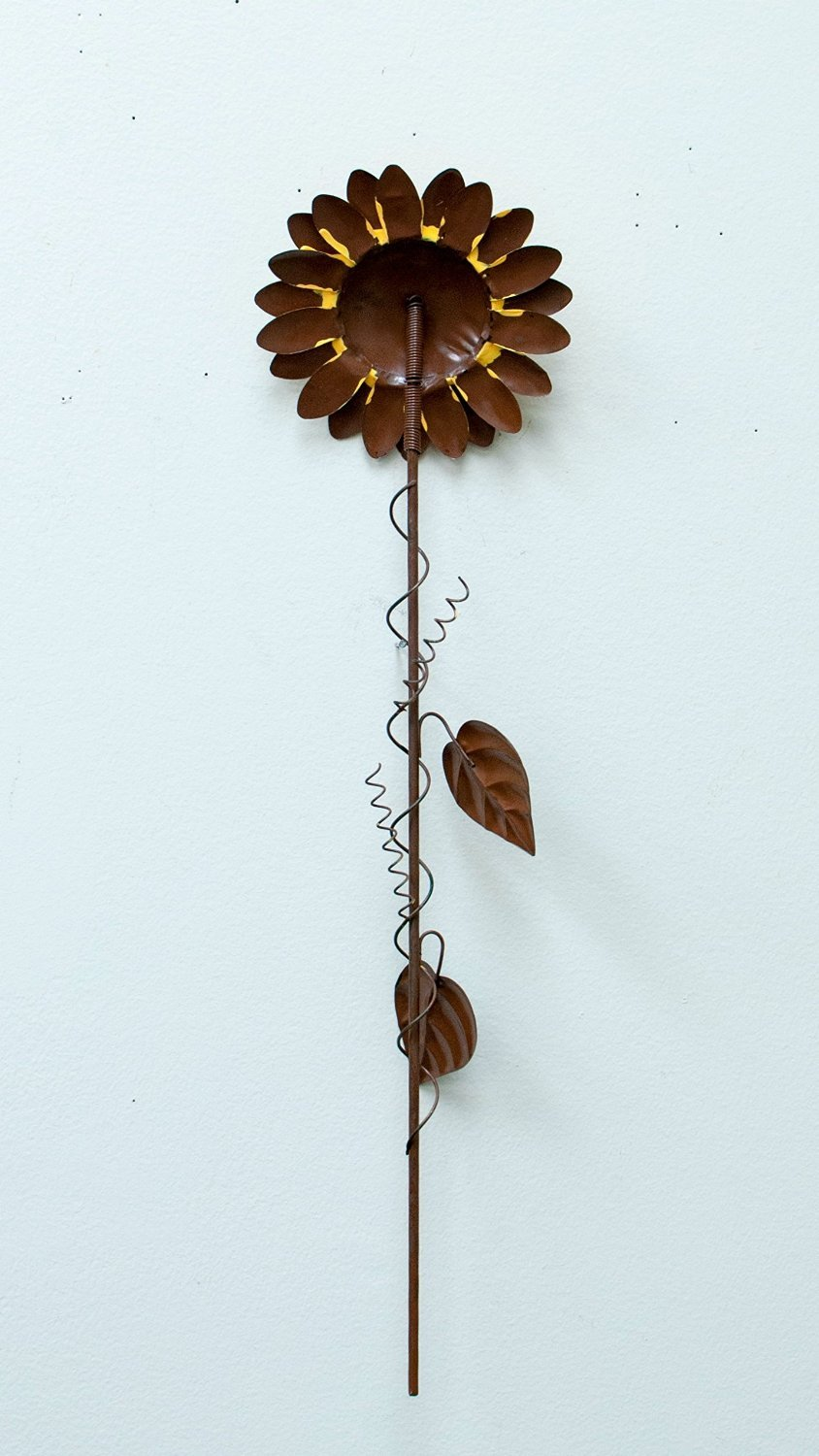 Grace Home Metal Sunflower Garden Stake Large Flower Patio Lawn Yard Stake Decor by Grace Home (Image #4)