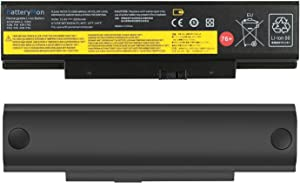 BatteryMon 76+ Battery 4X50G59217 45N1761 45N1762 for Lenovo ThinkPad E565 E560 E555 E550 E550c Notebook