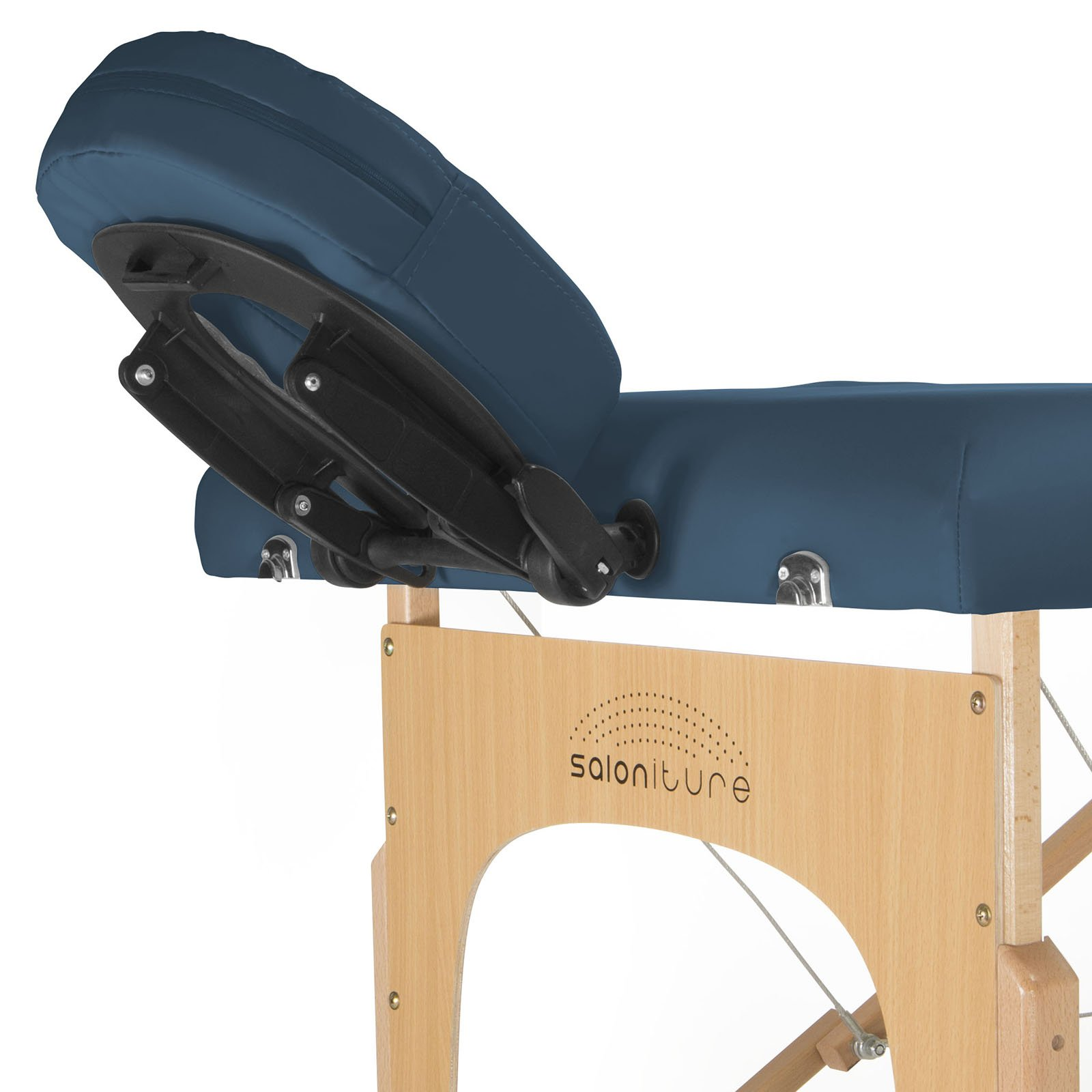 Saloniture Professional Portable Massage Table with Backrest - Blue by Saloniture (Image #3)
