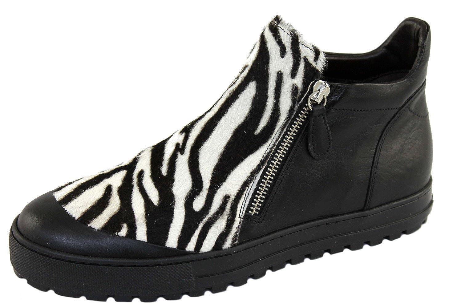 Laura Bellariva Damenschuhe Damenschuhe Damenschuhe Schuhe Kurzstiefeletten  Schuhe 4800E schwarz-weiß - 107dd6 30c41c24c6
