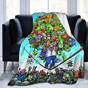 Ultra-Soft Warm Bed Blankets for Soft/Bed/Office Throw 40x50 Inch All Season Kid Gifts