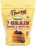 Bob's Red Mill Organic 7 Grain Pancake & Waffle Mix, 24 Ounce (Pack of 1)