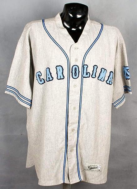 the best attitude 13fe2 2122e UNC Flannel Replica Baseball Jersey (1932 Style) at Amazon's ...