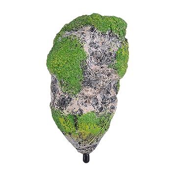 Fdit Ornamento Acuario Flotante de Roca Resina Artificial Ornamento del Acuario Piedras Decoración Adornos Pecera(M): Amazon.es: Hogar